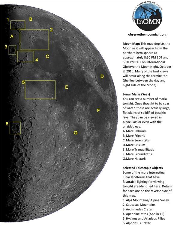 InOMN 2016, Mondkarte für den 8. Oktober 2016