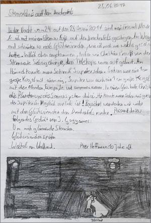 """Erlebnisbericht """"Sternerlebnis auf dem Drachenfels"""" von Peer Hoffmann (10)"""