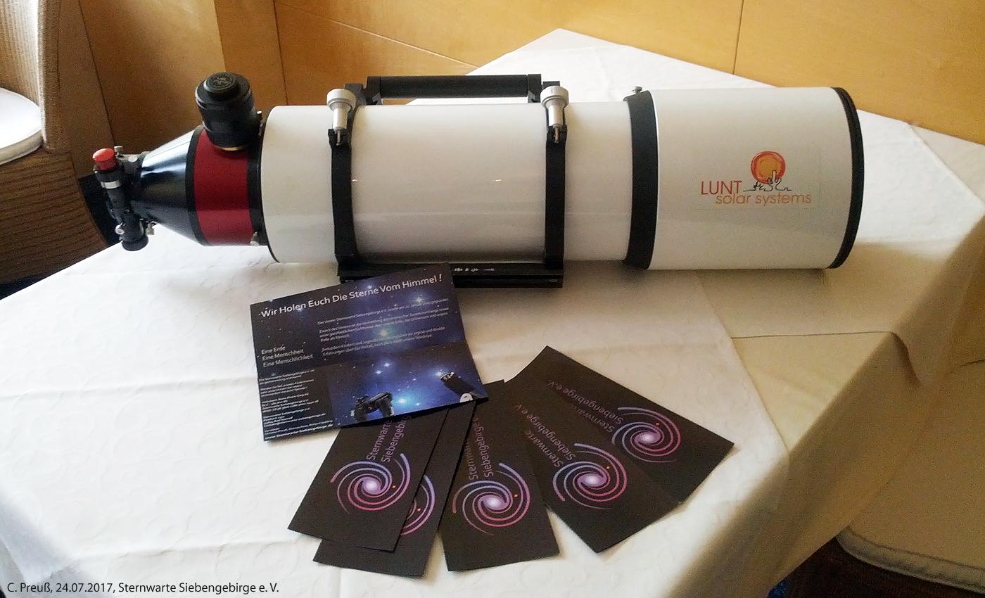 Starscope mm refraktor teleskop auf eq