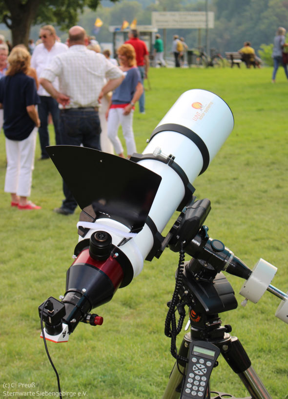 Sonnenteleskop-cSternwarte-Siebengebirge-eV-590px