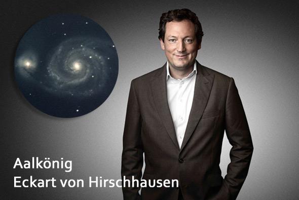Foto: Aalkönig Eckart von Hirschhausen, (c) Paul Ripke, Pressefoto Hirschausen