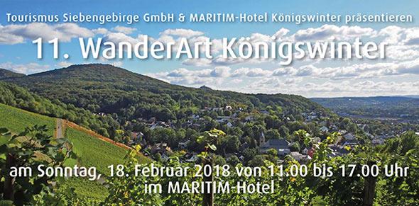 Abb.: WanderArt 2018, (c) Tourismus Siebengebirge GmbH