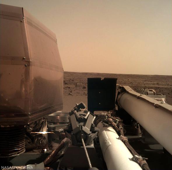 InSight auf dem Mars
