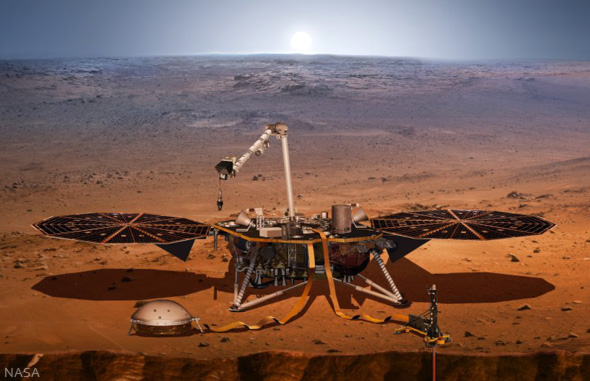 NASA InSight auf dem Mars